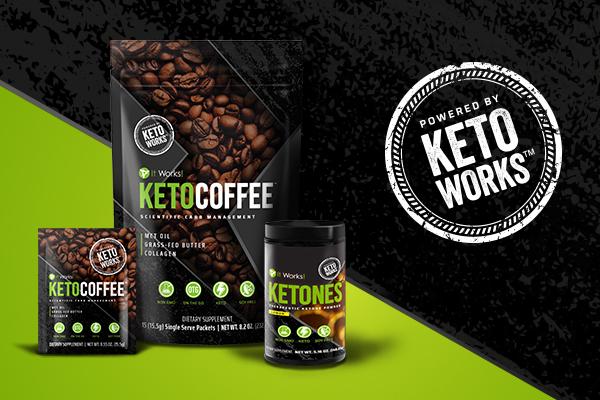 Ketones And Keto Coffee Graphic